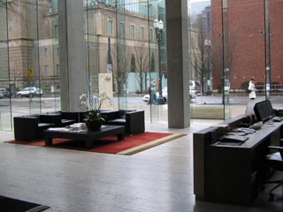 Portland Condos, The Eliot Tower, Lobby