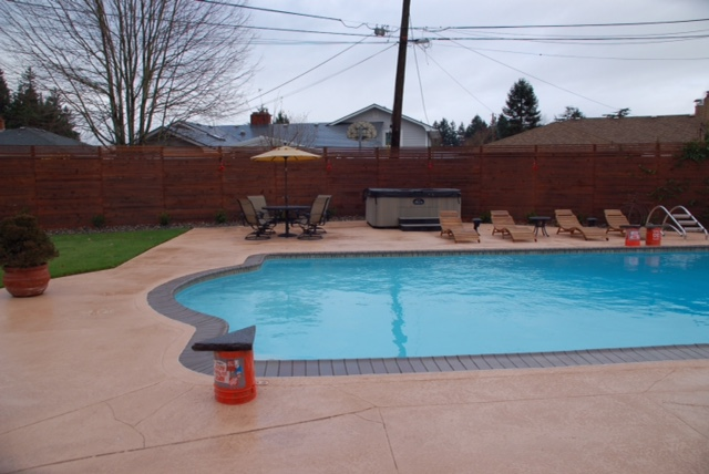 PAtio House Pool Portland
