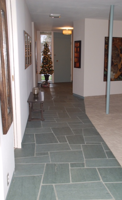 Patio House Tile Floor Portland