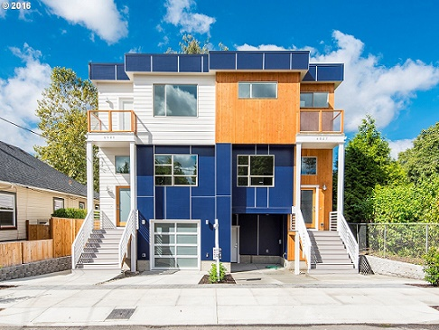 Portland architecture the most common house styles in for Townhouse architectural styles
