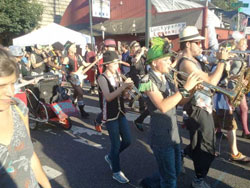 Last Thursday In Portland, Marching Band
