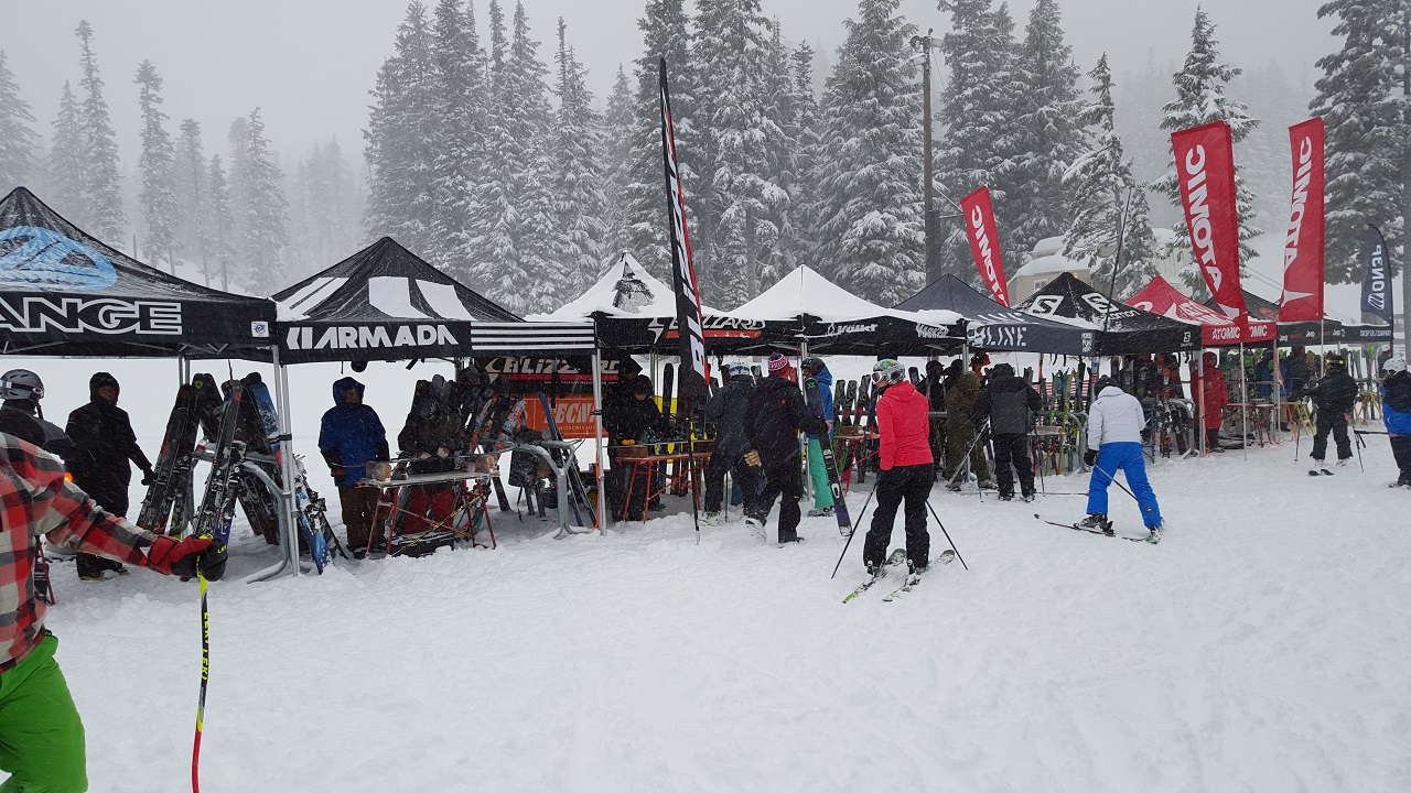 Demo Day At Mt. Hood Meadows