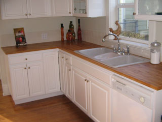 Kitchen in house in Buckman neighborhood, close in SE Portland